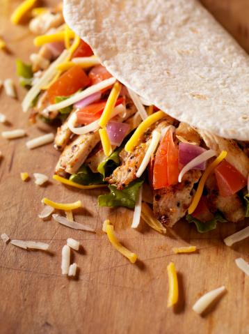 Tortilla - Flatbread「Soft Chicken Taco」:スマホ壁紙(12)