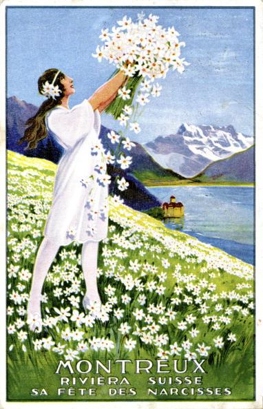 Vaud Canton「Advertisement for Montreux Narcissus Festival」:写真・画像(4)[壁紙.com]