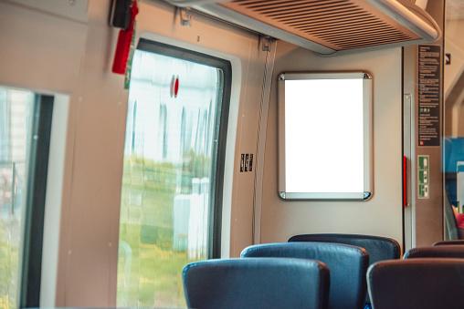 Passenger Train「Advertisement panel inside train」:スマホ壁紙(18)