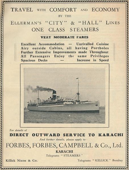 乗客輸送船「Advertisement For Ellermans Steamers」:写真・画像(10)[壁紙.com]
