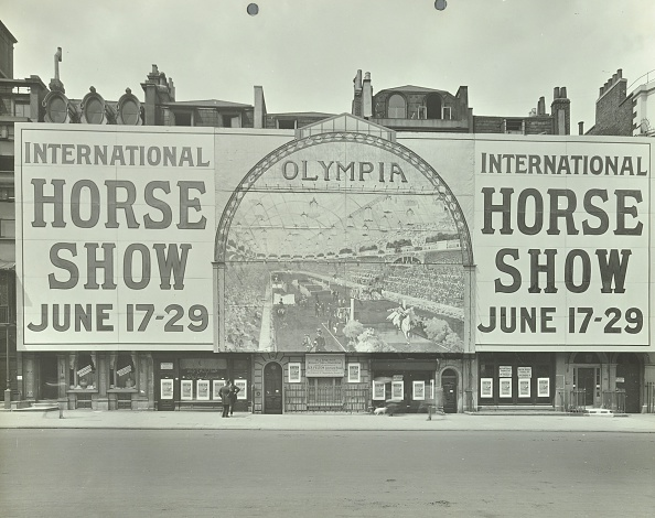 Olympia Exhibition Hall「Advertisement For The International Horse Show, 114 Piccadilly, London, 1912. Artist: Unknown.」:写真・画像(10)[壁紙.com]