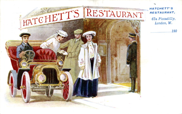 City Life「Advertisement for Hatchett's Restaurant, London」:写真・画像(2)[壁紙.com]