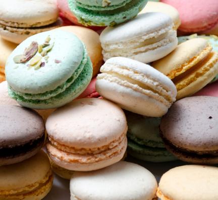 Macaroon「Colored Macarons」:スマホ壁紙(9)