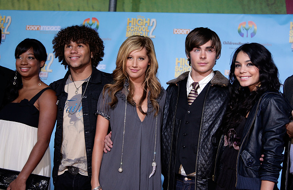 "Leather Jacket「DVD of Premiere Disney's ""High School Musical 2"" - Arrivals」:写真・画像(7)[壁紙.com]"