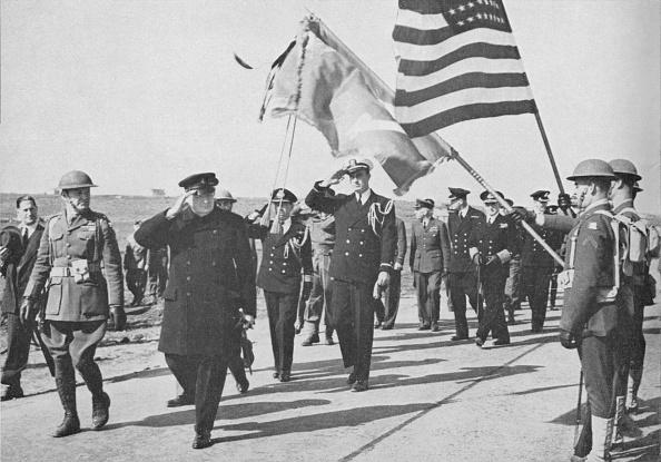 アメリカ合衆国「Iceland visit Churchill - with Ensign Franklin D Roosevelt」:写真・画像(9)[壁紙.com]