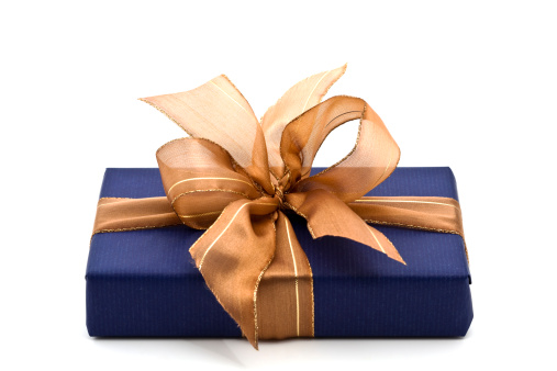 Royal Blue「blue gift box」:スマホ壁紙(2)