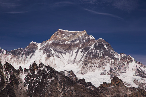 Khumbu「The view of Cho Oyu from Scoundrels Viewpoint, Everest Base Camp via Gokyo Trek, Nepal」:スマホ壁紙(9)