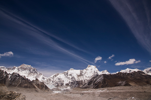 Khumbu「The view of Cho Oyu from Scoundrels Viewpoint, Everest Base Camp via Gokyo Trek, Nepal」:スマホ壁紙(13)