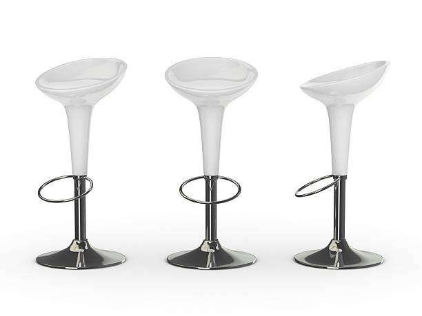 white 3d bar chair:スマホ壁紙(壁紙.com)
