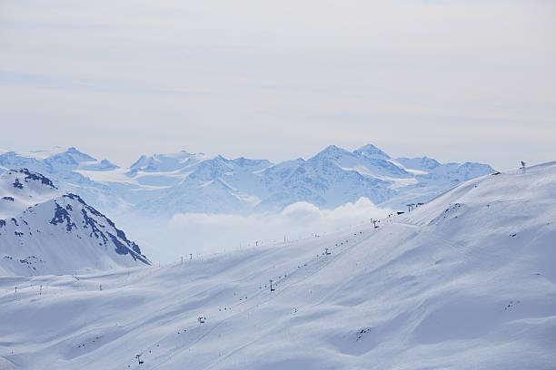 Winter panorama  Mountain snowy  landscape Ski resort  Livigno Italian Alps:スマホ壁紙(壁紙.com)
