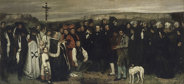 1877「A Burial At Ornans (A Painting Of Human Figures」:写真・画像(19)[壁紙.com]