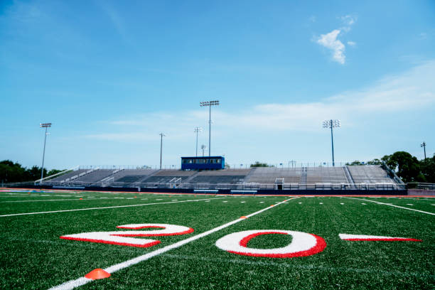 20-yard line on football field:スマホ壁紙(壁紙.com)