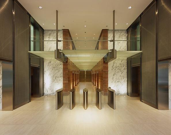 Ceiling「Foyer Office Interior, Broadgate, London, UK」:写真・画像(8)[壁紙.com]