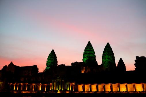 Cambodian Culture「Angkor Wat at Sunset」:スマホ壁紙(17)