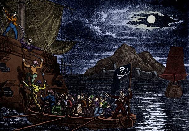 Pirates boarding a Spanish vessel, West Indies.:ニュース(壁紙.com)