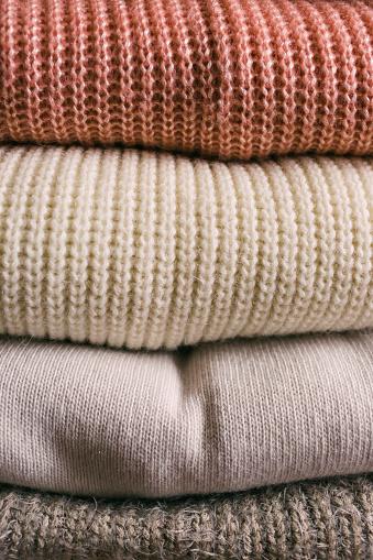 Sweater「Stack of folded sweaters」:スマホ壁紙(1)
