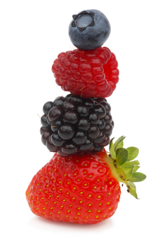 Raspberry「A stack of four berries」:スマホ壁紙(10)