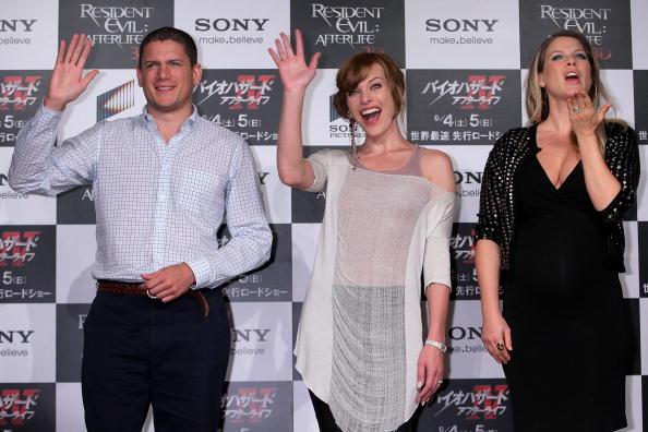 ミラ・ジョヴォヴィッチ「'Resident Evil: Afterlife' Japan Press Conference」:写真・画像(8)[壁紙.com]