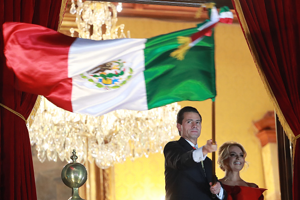 Enrique Pena Nieto「Mexico Independence Day Celebrations」:写真・画像(10)[壁紙.com]