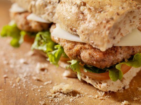 Breaded Chicken「Rustic Chicken Cutlet Sandwich」:スマホ壁紙(13)