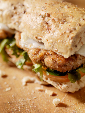 Breaded Chicken「Rustic Chicken Cutlet Sandwich」:スマホ壁紙(18)