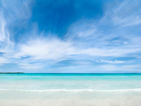 ビーチ「トロピカルな白砂のビーチ」:スマホ壁紙(17)