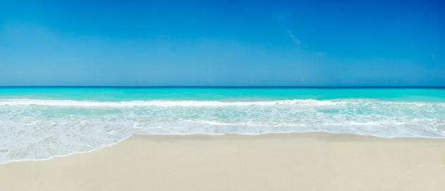 Panoramic「Tropical white sand beach」:スマホ壁紙(4)