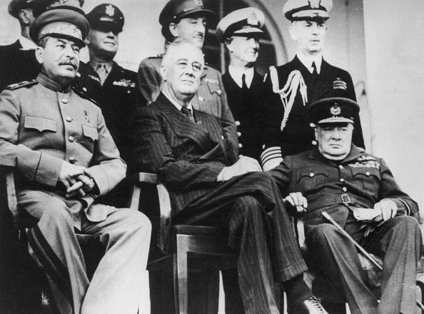 Franklin Roosevelt「Tehran Conference」:写真・画像(11)[壁紙.com]