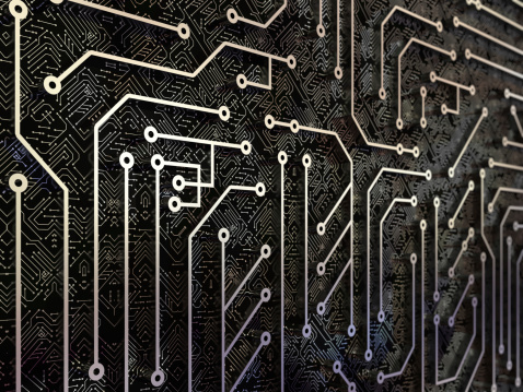 Circuit Board「Technology background」:スマホ壁紙(11)