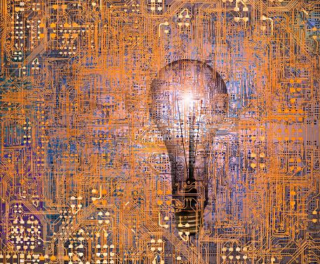 Mother Board「Technology Innovation Circuitry Light Bulb」:スマホ壁紙(19)