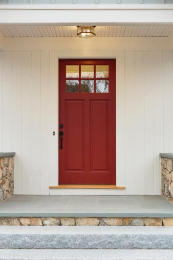Front Door「Front door of new custom built home」:スマホ壁紙(9)