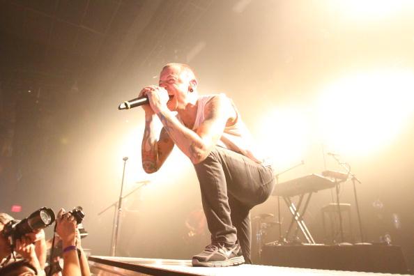 チェスター・ベニントン「Linkin Park Gives Inaugural Performance At The Best Buy Theater」:写真・画像(11)[壁紙.com]