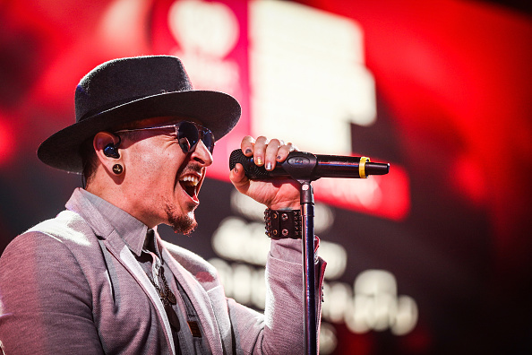 チェスター・ベニントン「Linkin Park iHeartRadio Album Release Party Presented by State Farm at the iHeartRadio Theater LA」:写真・画像(8)[壁紙.com]