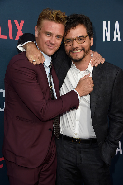 "Two People「Premiere Of Netflix's ""Narcos"" Season 2 - Arrivals」:写真・画像(2)[壁紙.com]"