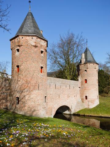 Utrecht「Medieval watergate Monnikendam in Amersfoort」:スマホ壁紙(13)
