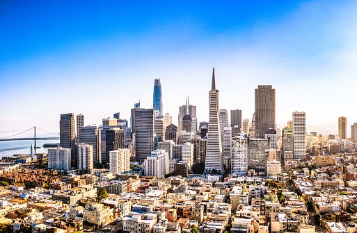 Urban Skyline「Downtown San Francisco」:スマホ壁紙(12)