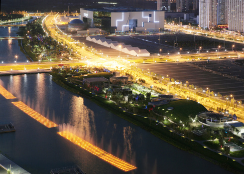 Olympic Stadium「Olympic Architectures,Beijing,China」:スマホ壁紙(15)