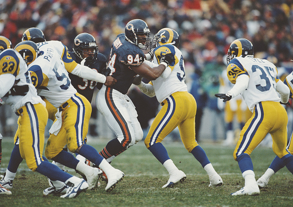 Defensive Lineman - American Football Player「Los Angeles Rams vs Chicago Bears」:写真・画像(0)[壁紙.com]