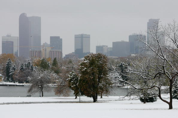 Urban Skyline「Early Season Snow Blankets Denver Area」:写真・画像(3)[壁紙.com]
