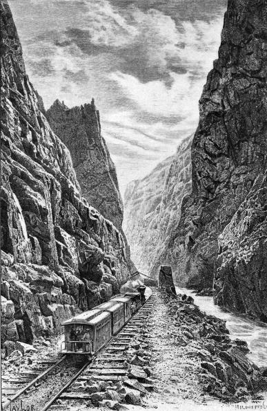 Land Vehicle「The Denver and Rio Grande railway, 1889」:写真・画像(17)[壁紙.com]