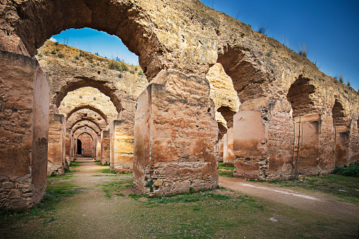 Morocco「Old moroccan granary in Meknes」:スマホ壁紙(8)