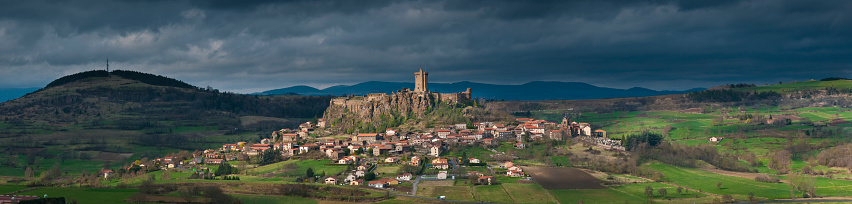 Camino De Santiago「Polignac cityscape」:スマホ壁紙(17)
