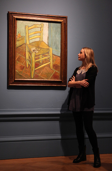 Painted Image「The Royal Academy Launches Its Exhibition The Real Van Gogh」:写真・画像(19)[壁紙.com]