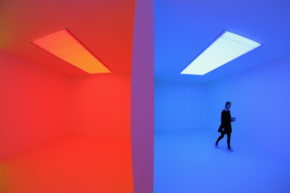 光「International Artists Exhibit Their Work As Part Of The Hayward Gallery's Light Show exhibition」:写真・画像(7)[壁紙.com]