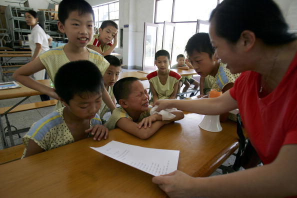 Chili Sauce「Children Undergo Stringent Educational Program At China's West Point」:写真・画像(10)[壁紙.com]