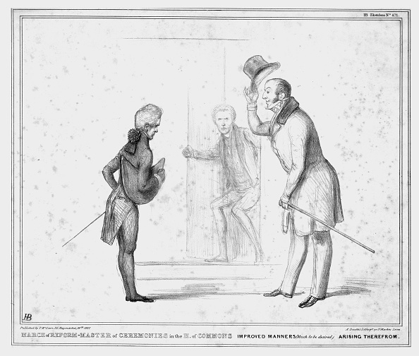 Caricature「March Of Reform - Master Of Ceremonies In The H Of Commons Improved Manners」:写真・画像(9)[壁紙.com]