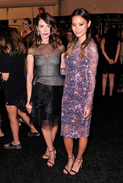 Jamie Spencer「Monique Lhuillier - Backstage - Mercedes-Benz Fashion Week Spring 2015」:写真・画像(10)[壁紙.com]