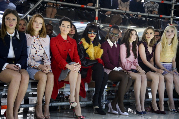 Pascal Le Segretain「Miu Miu : Arrivals  - Paris Fashion Week Womenswear Fall/Winter 2014-2015」:写真・画像(19)[壁紙.com]