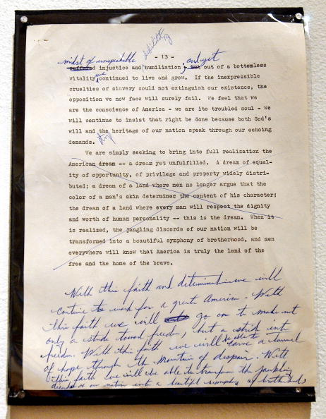 Information Medium「Martin Luther King Documents On View At Sotheby's In New York City」:写真・画像(16)[壁紙.com]