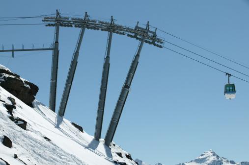 Les Menuires「Ski lift」:スマホ壁紙(10)